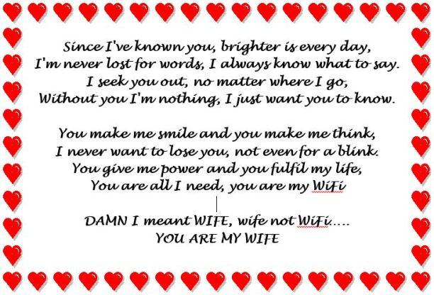 WiFi (Wife)